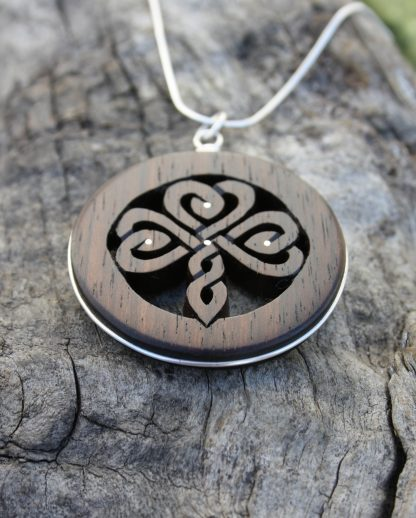 Handcarved Shamrock Gift Made In Ireland