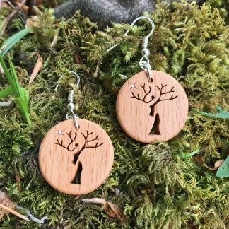Irish Beech Treelady earrings