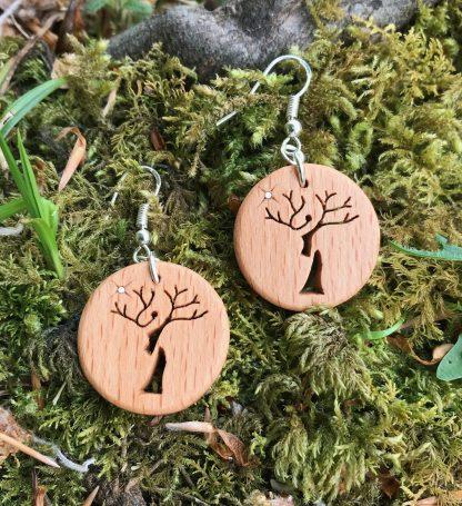 Irish Beech Treelady earrings