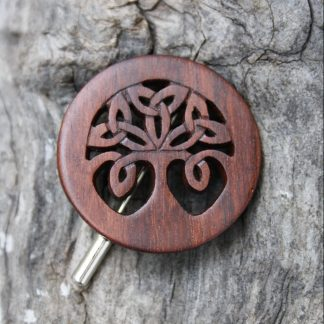 Celtic Tree of Life brooch